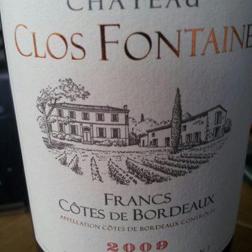 Dégustation du 1er Octobre : Clos Fontaine (Thienpont)