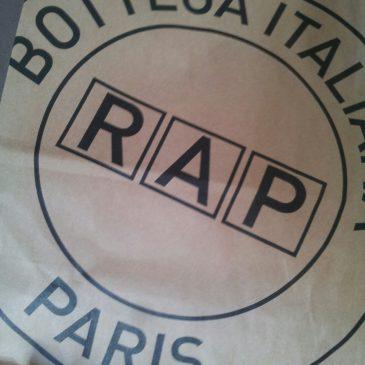 RAP – la meilleure épicerie italienne parisienne